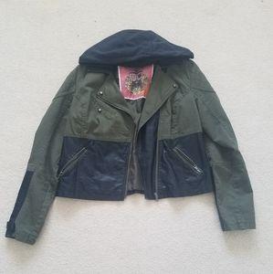 Mixed Moto Jacket